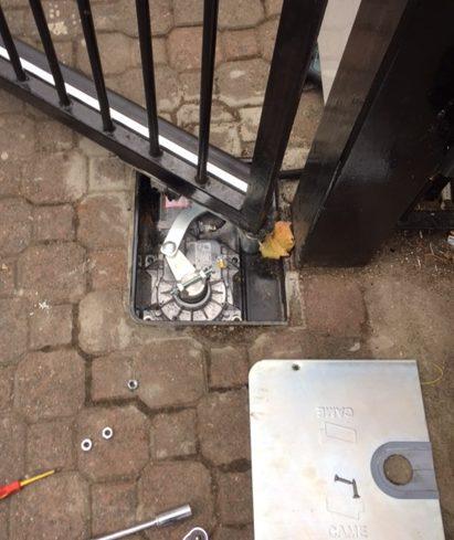 London Gate Automation new underground motor