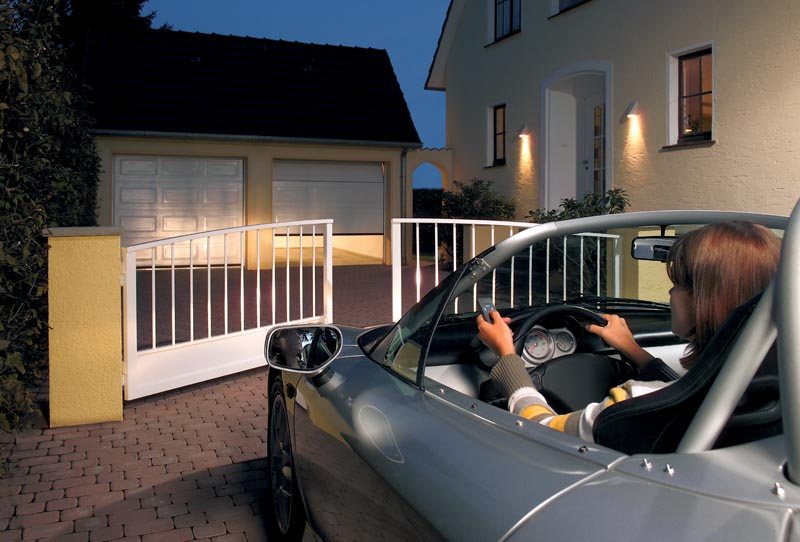 What's the best access control for your electric gates?