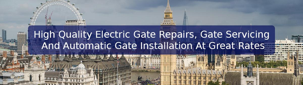 Electric gate repair london gate services